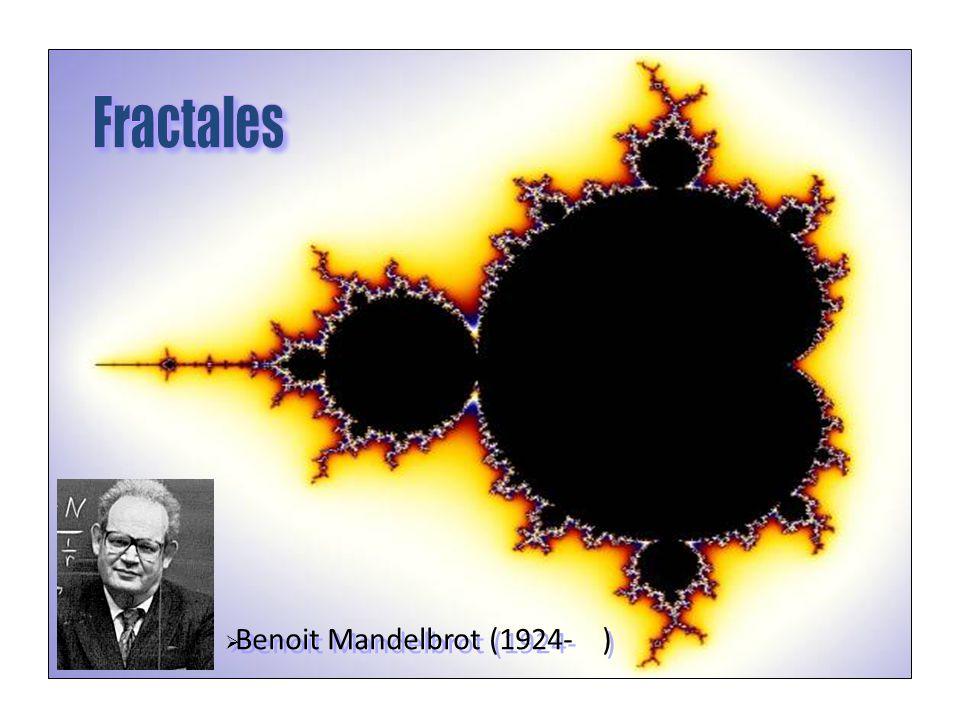 Benoit Mandelbrot (1924- )