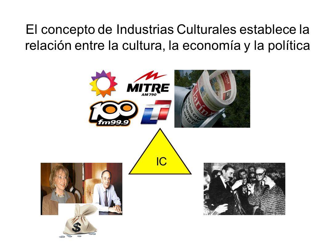 La glocalización es el espacio de mediaciones simbólicas donde se lleva a cabo la batalla cultural La concentración, financierización y expansión a escala global de las IC se enfrentan desigualmente a las culturas locales