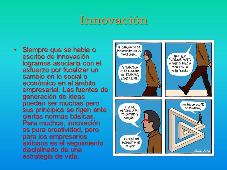 Siempre que se habla o escribe de innovación logramos asociarla con el esfuerzo por focalizar un cambio en lo social o económico en el ámbito empresarial.
