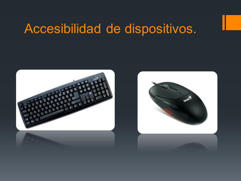 Ratón en el teclado 1.Abra el Centro de accesibilidad haciendo clic en el botón Inicio, en Panel de control, en Accesibilidad y, por último, en Centro de accesibilidad.