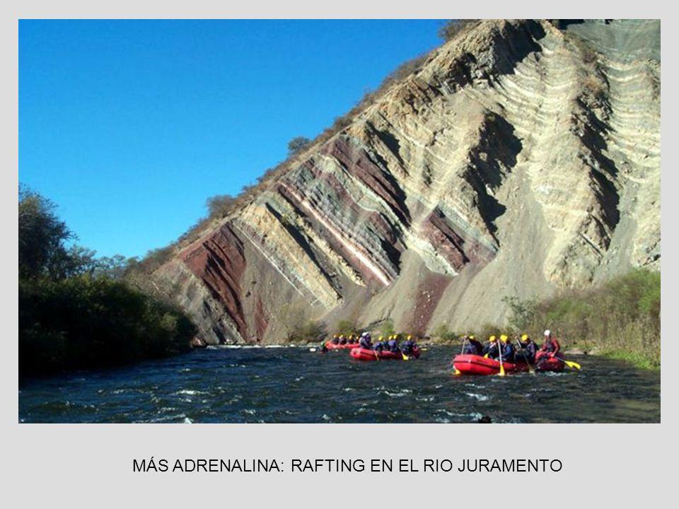 MÁS ADRENALINA: RAFTING EN EL RIO JURAMENTO