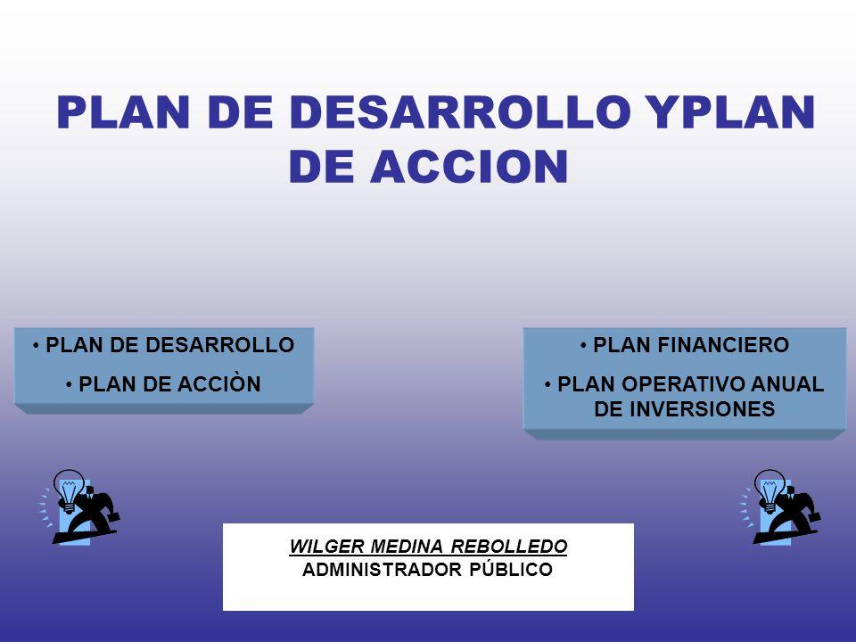 PROCESO DE ELABORACIÓN DEL PLAN DE DESARROLLO 1.