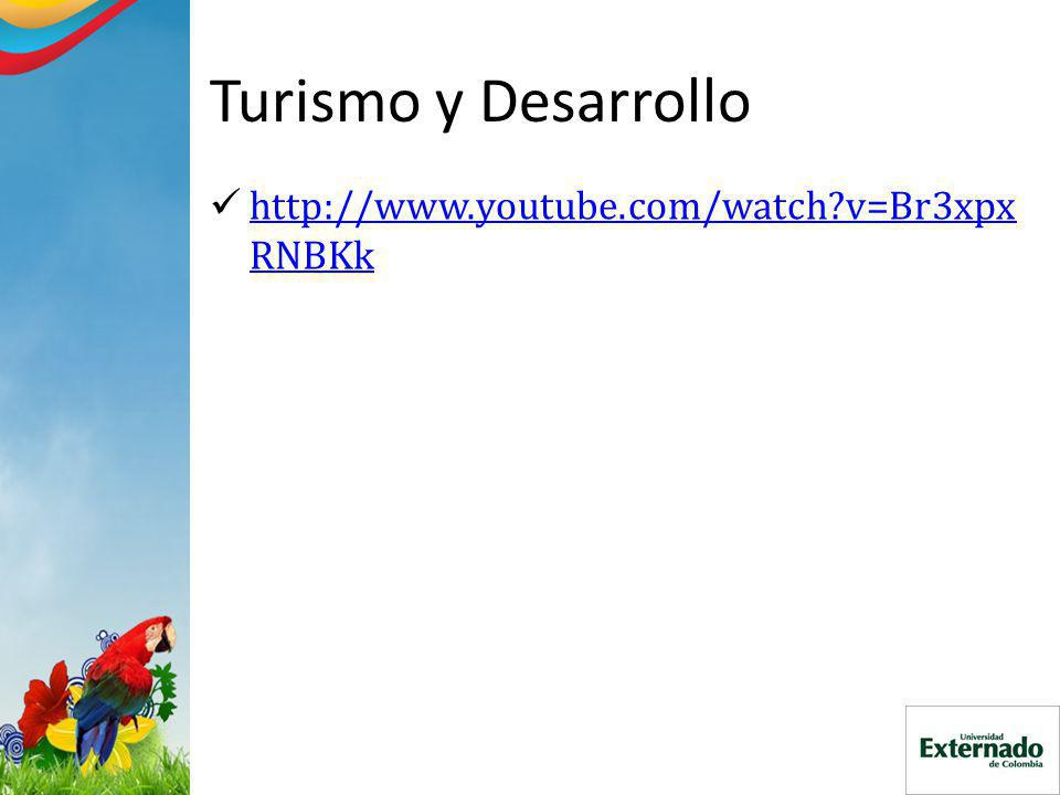 Turismo y Desarrollo http://www.youtube.com/watch v=Br3xpx RNBKk http://www.youtube.com/watch v=Br3xpx RNBKk