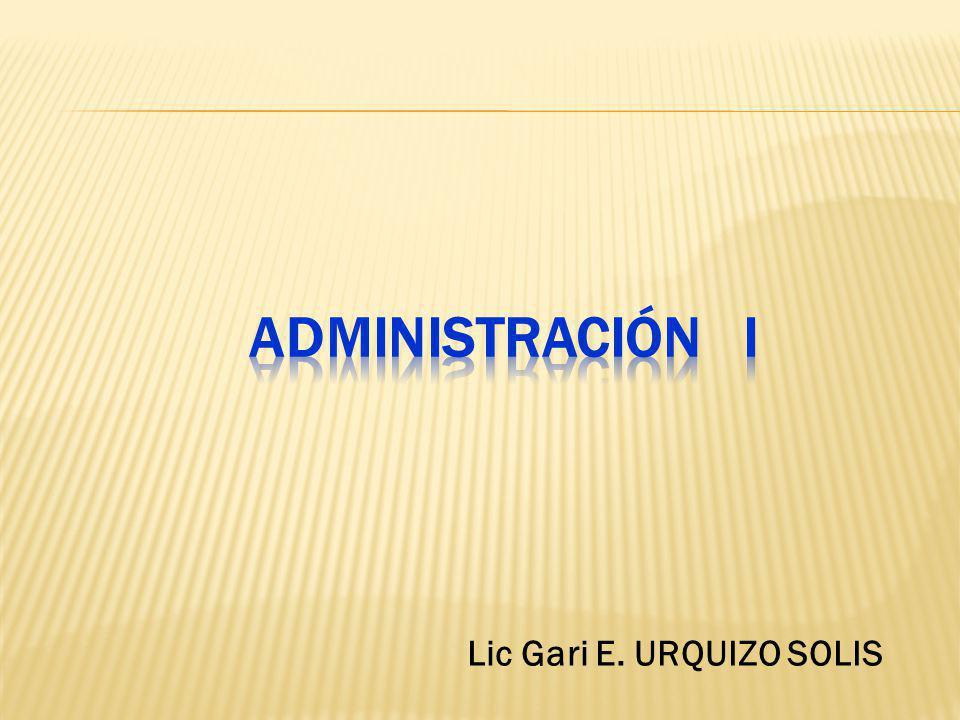Lic Gari E. URQUIZO SOLIS