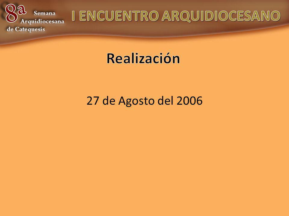 27 de Agosto del 2006