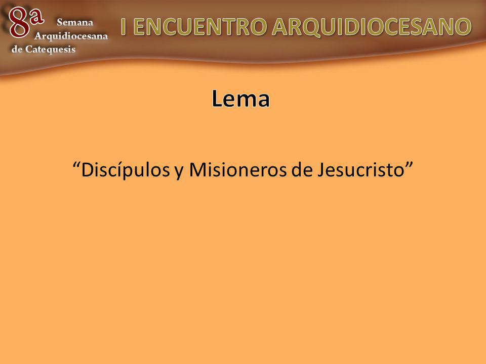 Discípulos y Misioneros de Jesucristo