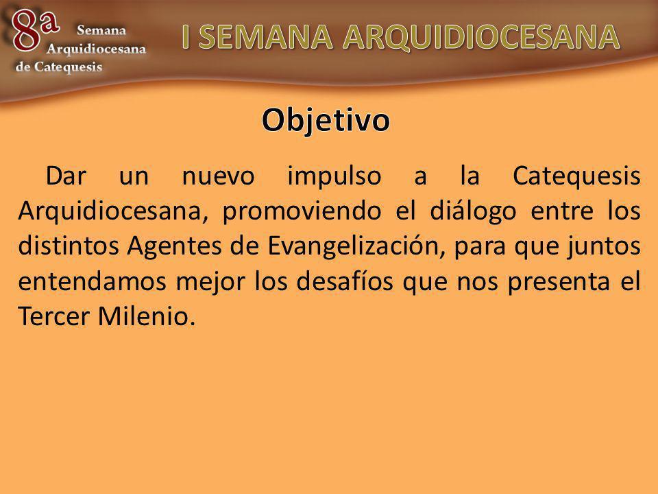 1.Realidad de la Catequesis hoy en la Arquidiócesis.