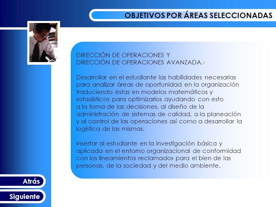 DIRECCIÓN DE OPERACIONES Y NEGOCIOS ELECTRÓNICOS.