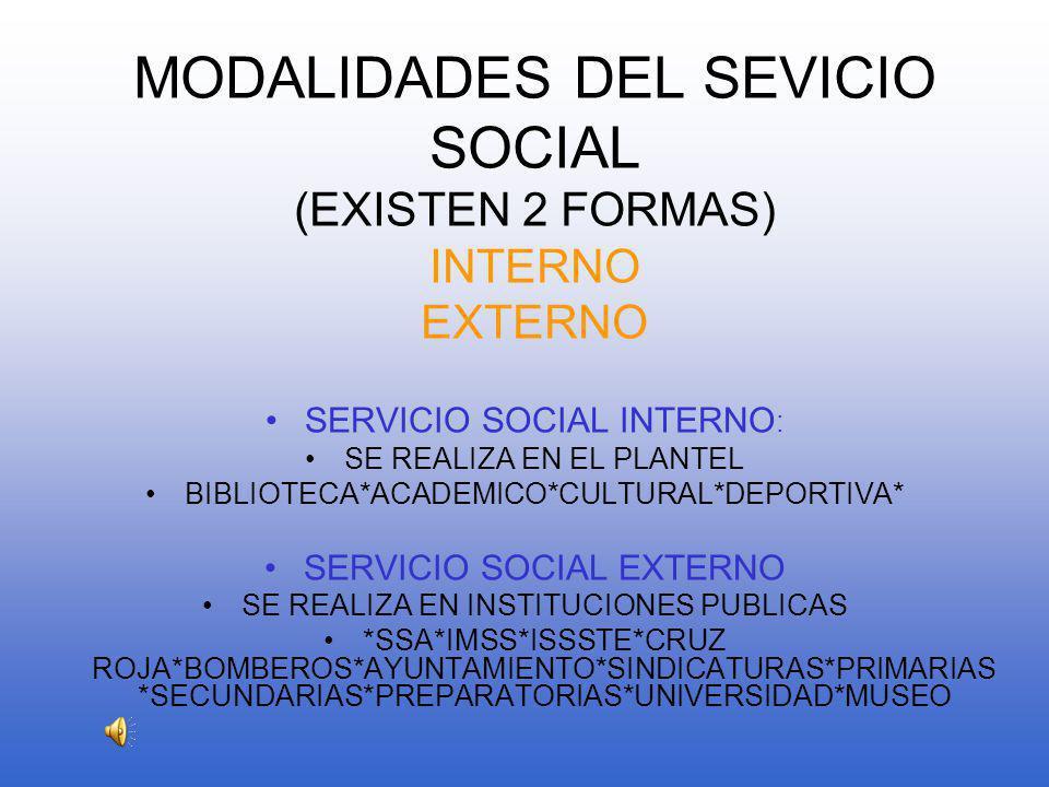 OBJETIVO DEL SERVICIO SOCIAL LOGRAR QUE EL ALUMNO: *Desarrolle una actitud solidaria, participativa y de compromiso social.