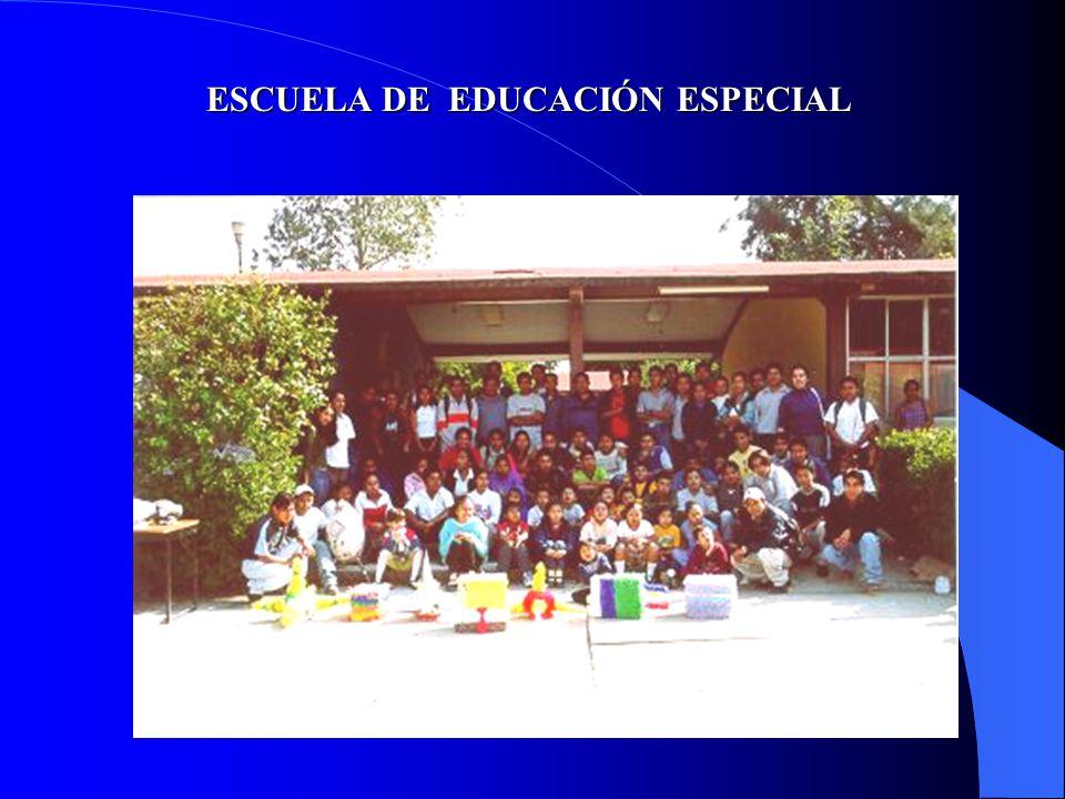 ESCUELA DE EDUCACIÓN ESPECIAL