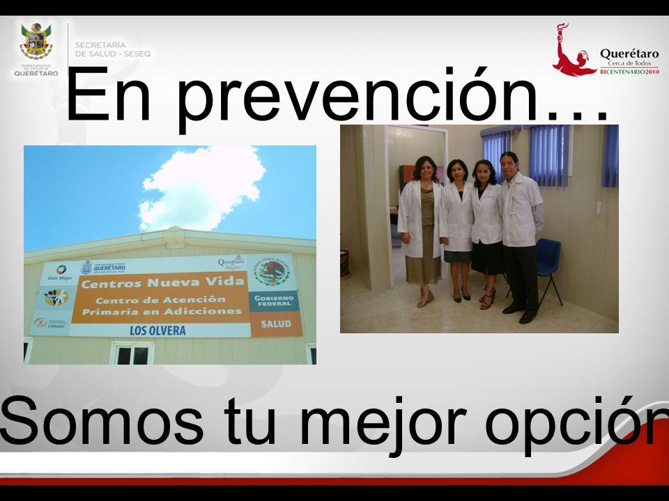 En prevención… Somos tu mejor opción