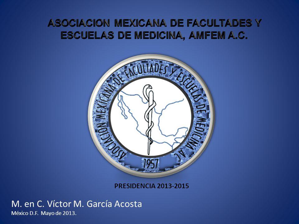 M. en C. Víctor M. García Acosta México D.F. Mayo de 2013. PRESIDENCIA 2013-2015