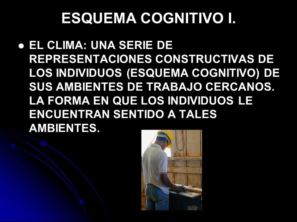 ESQUEMA COGNITIVO I.