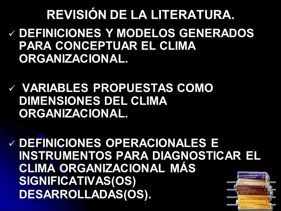 CONCLUSIONES DEL ESTUDIO.