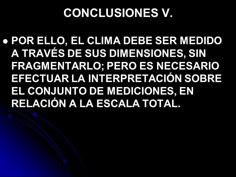 CONCLUSIONES V.
