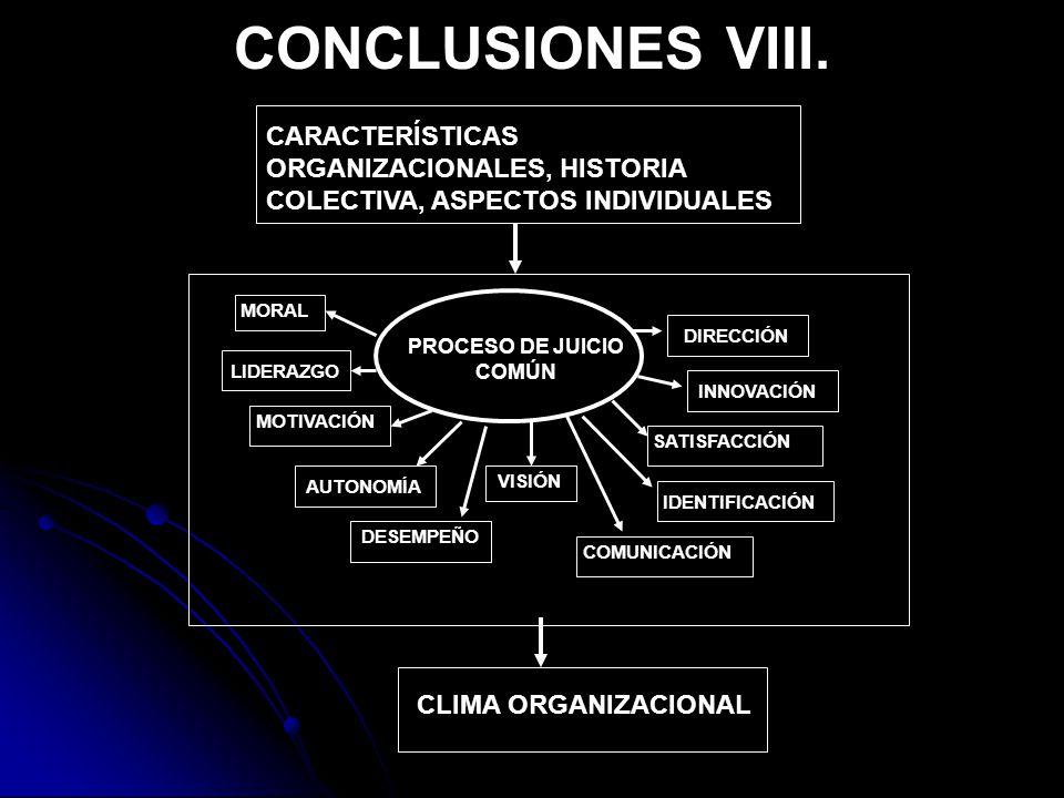 CONCLUSIONES VIII.
