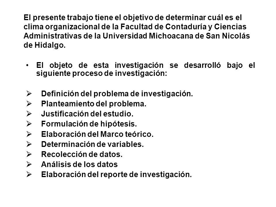 ENUNCIADO DE LA INVESTIGACIÓN.