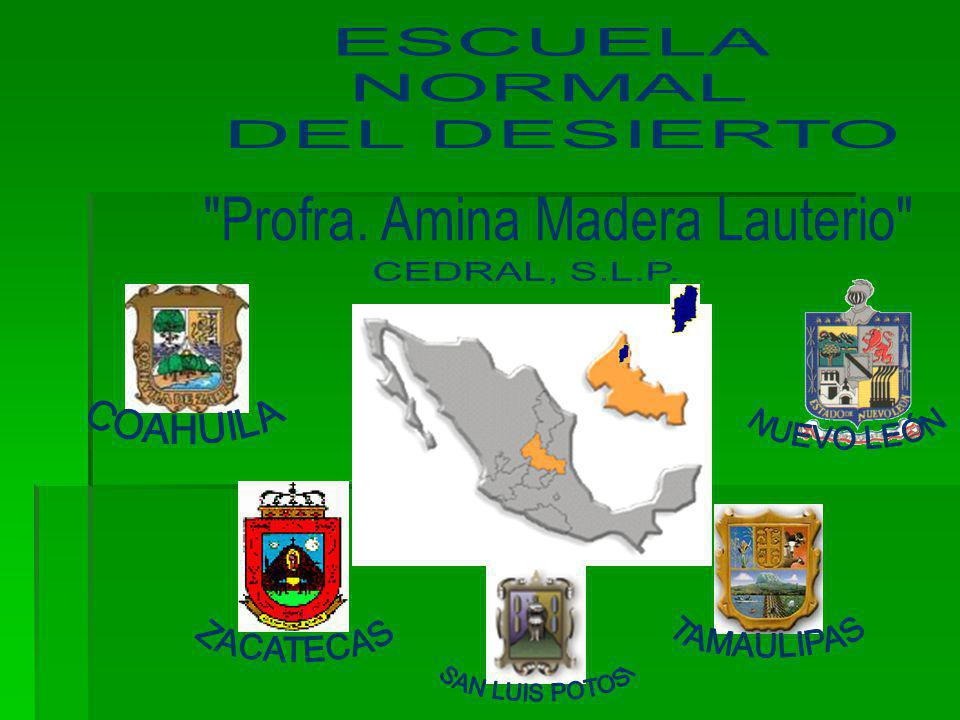 LA LLEGADA DE LA PROFRA AMINA AL PUEBLO DE CEDRAL EN 1975, FUNDA Y ORGANIZA EL CENTRO REGIONAL DE EDUCACIÒN NORMAL EN CEDRAL, SAN LUIS POTOSÌ, INSTITUCIÒN CREADA POR EL GOBIERNO FEDERAL DE ESE ENTONCES, A TRAVÈS DEL ORGANISMO DE PRODUCCIÒN LA FORESTAL, F.C.L, Y LOGRA HACER SURGIR EN ELLA EL IDEARIO DE LA GLORIOSA ESCUELA RURAL MEXICANA.