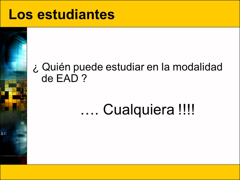 ¿Cuál es el proceso de ingreso de EAD.