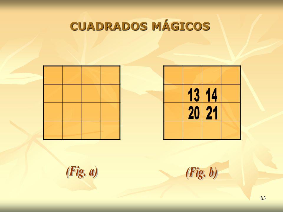 83 CUADRADOS MÁGICOS