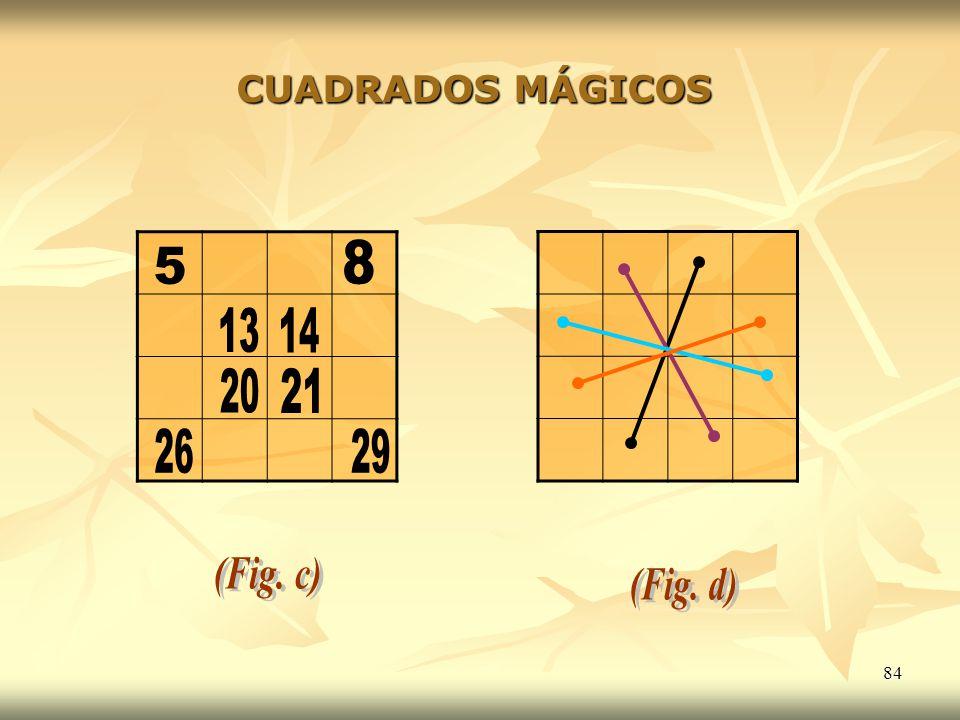 84 CUADRADOS MÁGICOS