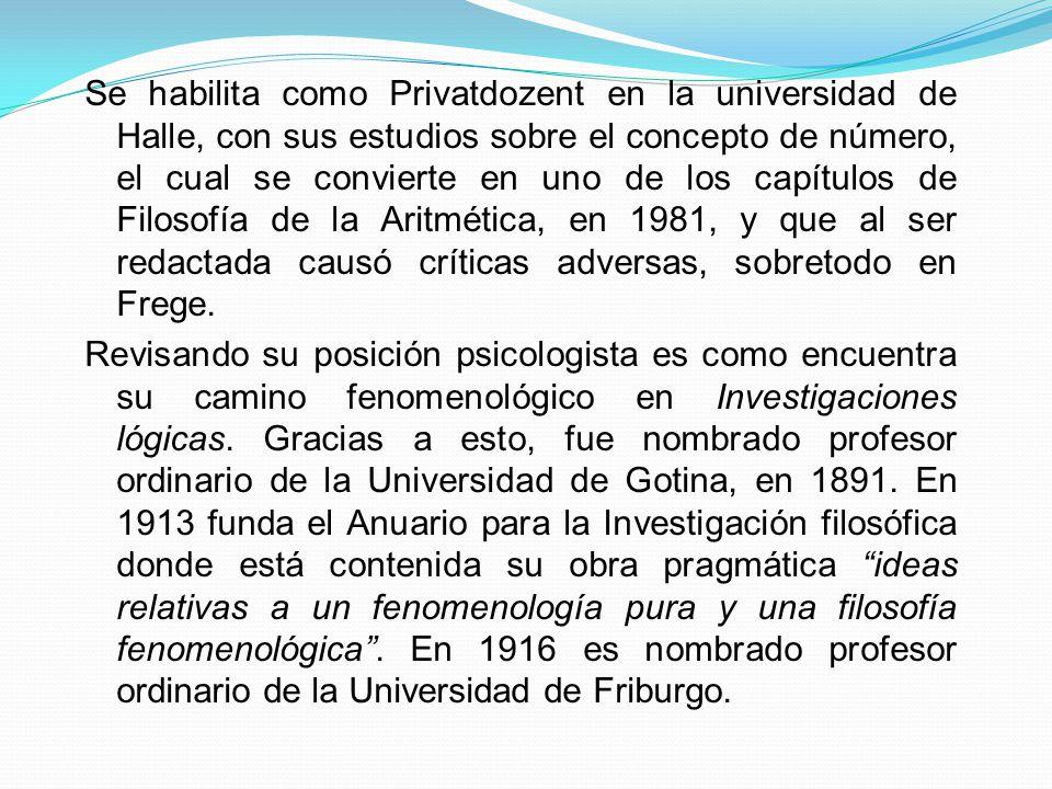Sin embargo, tuvo mucho esnobismo y se redujo, en la cuestión de Husserl, a la fenomenología como ciencia eidética y a la constitución de los fenómenos por parte de la fenomenología.