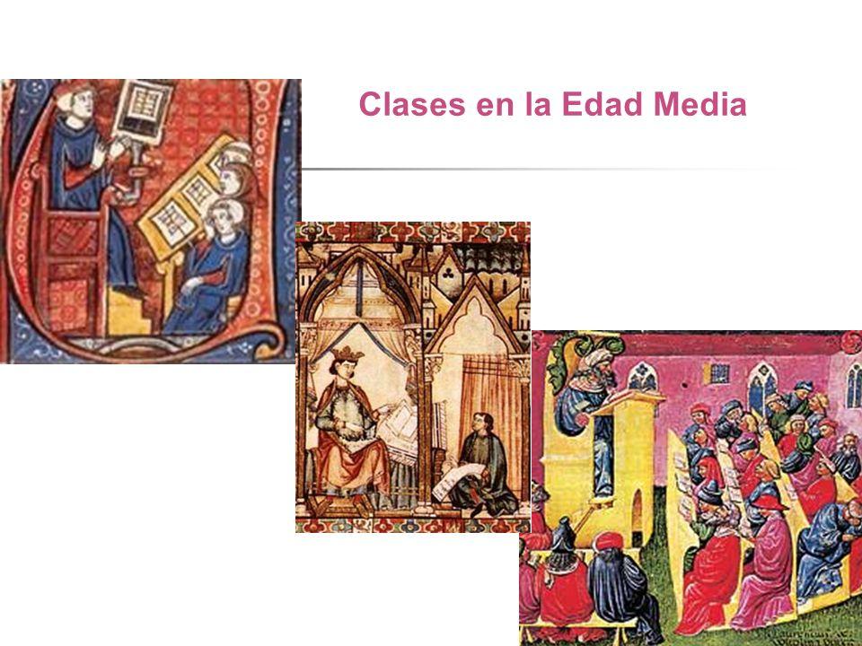 Clases en la Edad Media