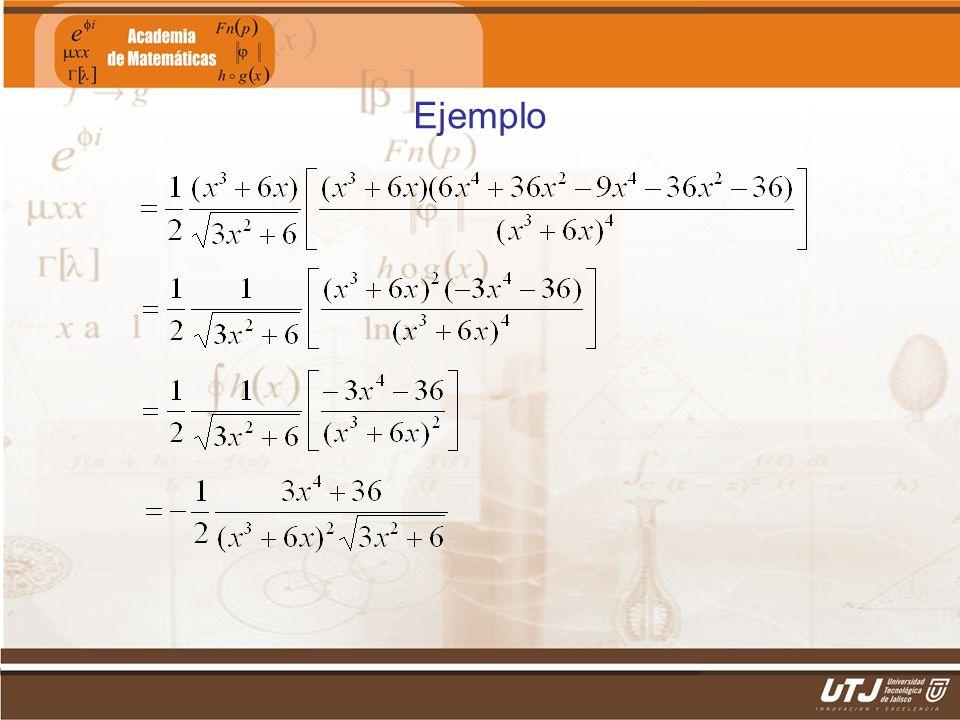 Matemáticas IIFís. Edgar I. Sánchez Rangel Ejemplo