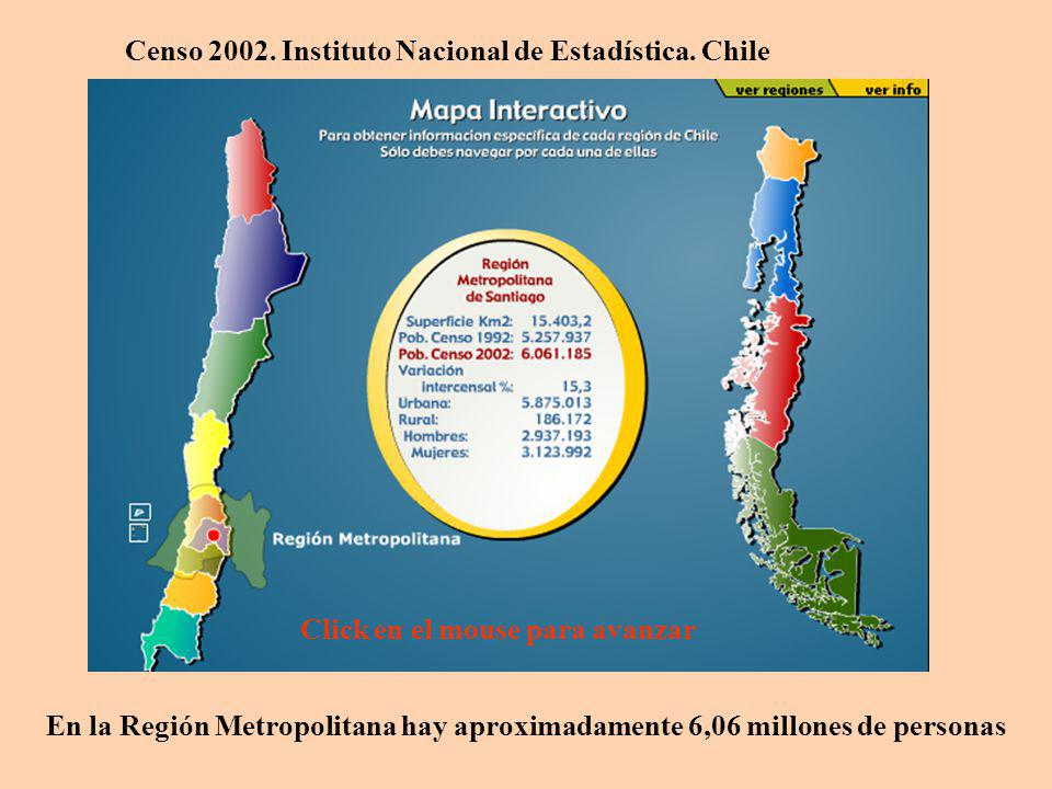 Dinámica Poblacional ¿Qué Región es más grande en superficie por kilómetro cuadrado.