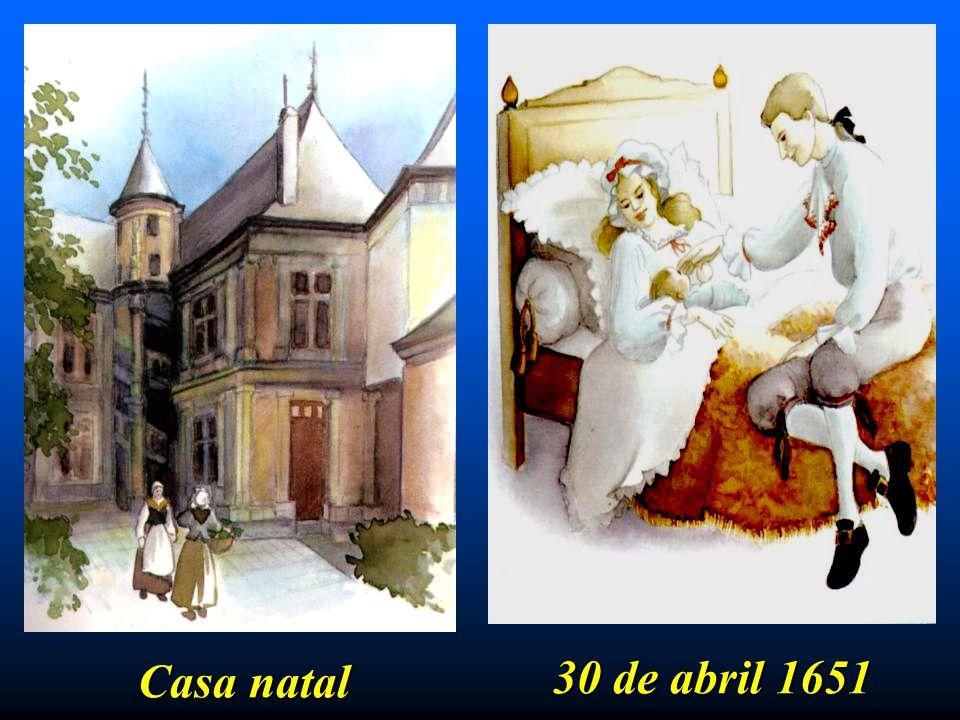30 de abril 1651 Casa natal