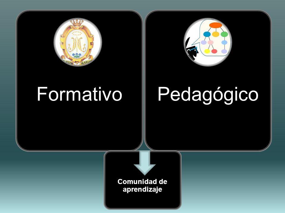FormativoPedagógico Comunidad de aprendizaje