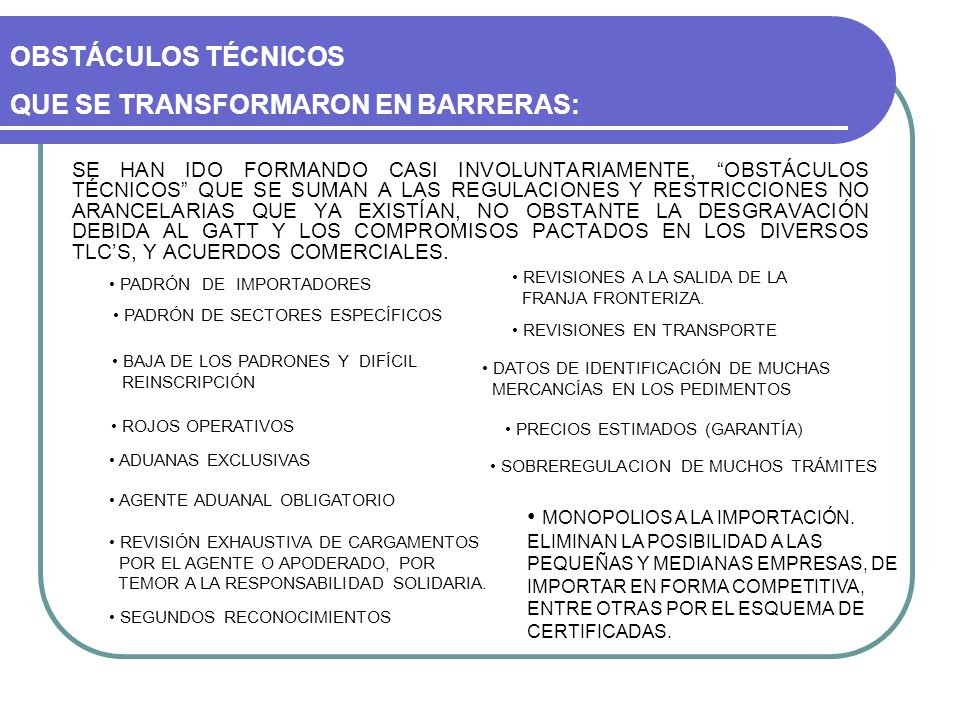 REGULACIONES Y RESTRICCIONES NO ARANCELARIAS: SECRETARÍA DE ECONOMÍA - PERMISOS PREVIOS - AVISOS AUTOMÁTICOS - CONSTANCIA DE PRODUCTO NUEVO - CUPOS - SALVAGUARDAS - NORMAS OFICIALES - CUOTAS COMPENSATORIAS