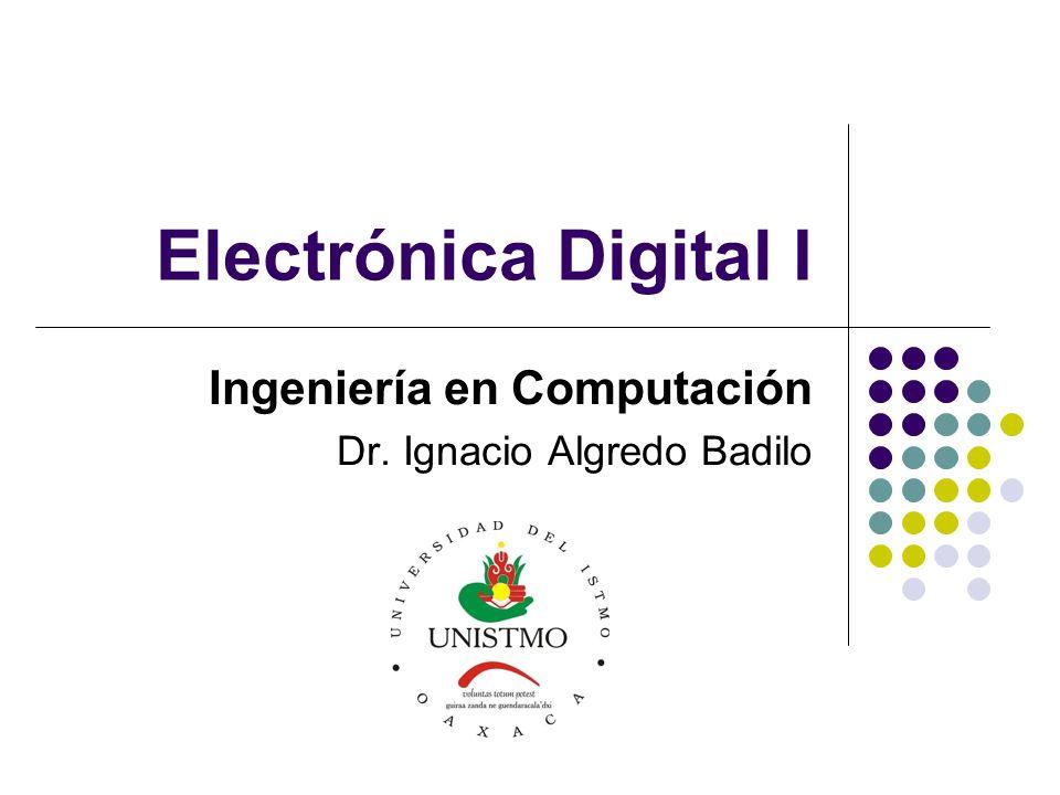 Objetivos Objetivo de la asignatura: Otorgar al alumno los conocimientos fundamentales para el análisis, diseño e implementación de circuitos lógicos, con base en componentes integrados a pequeña y mediana escala de integración.