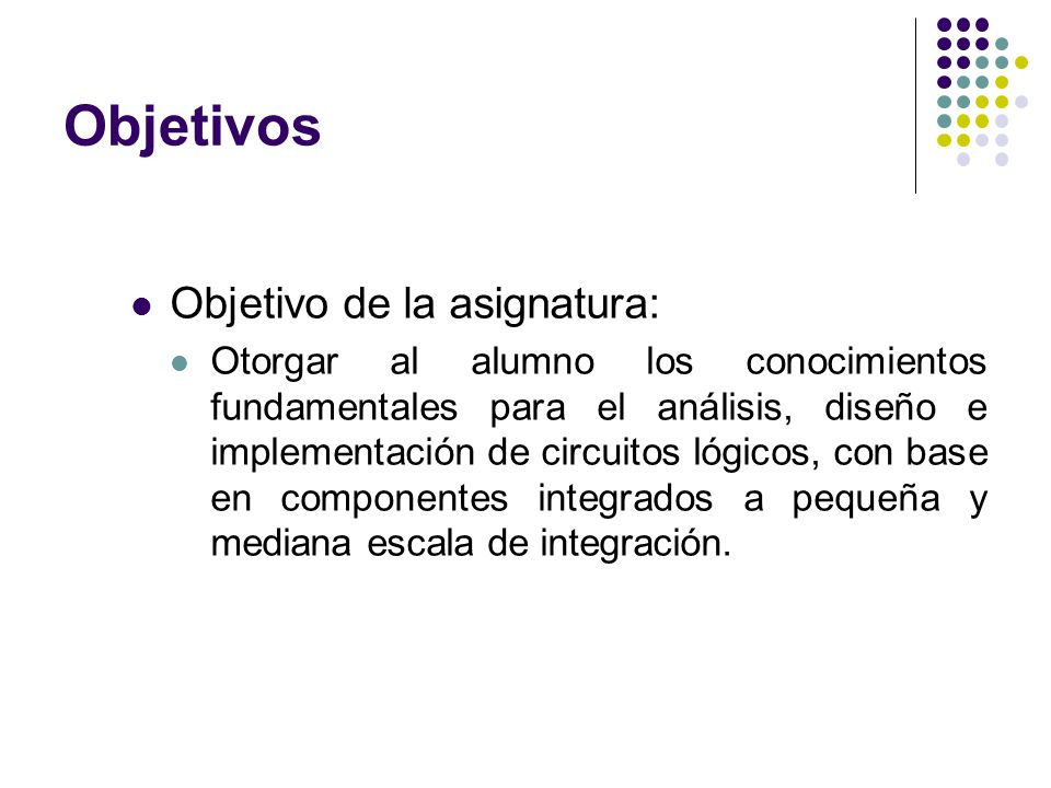 Prerrequisitos Electromagnetismo Circuitos Eléctricos Electrónica Analógica Electrónica Digital I 3º 4º 5º 6º