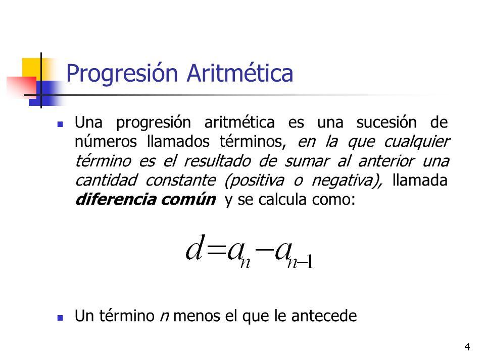 15 Progresiones - Interés simple Es el rendimiento que da un capital invertido durante un tiempo determinado, invertido a una tasa de interés dada………..