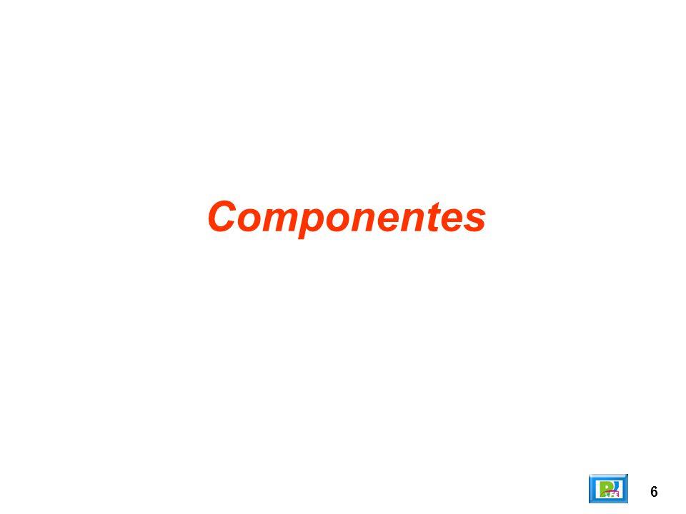 17 AbsoluteLayout Nos ordena los componentes en forma absoluta (en una posición de coordenadas exacta).