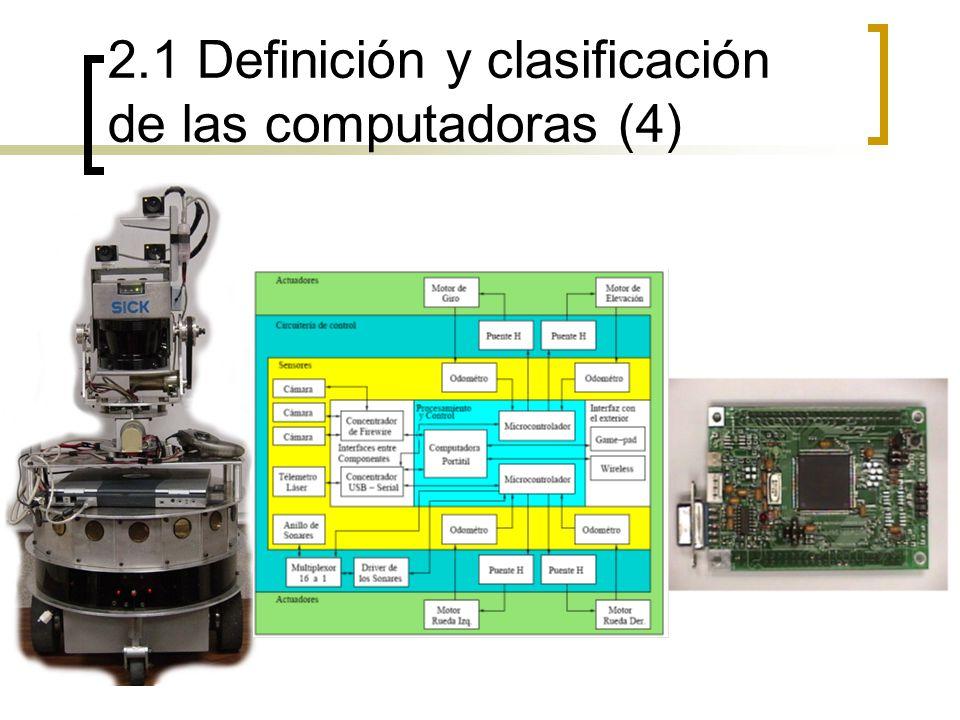 2.1 Definición y clasificación de las computadoras (4)