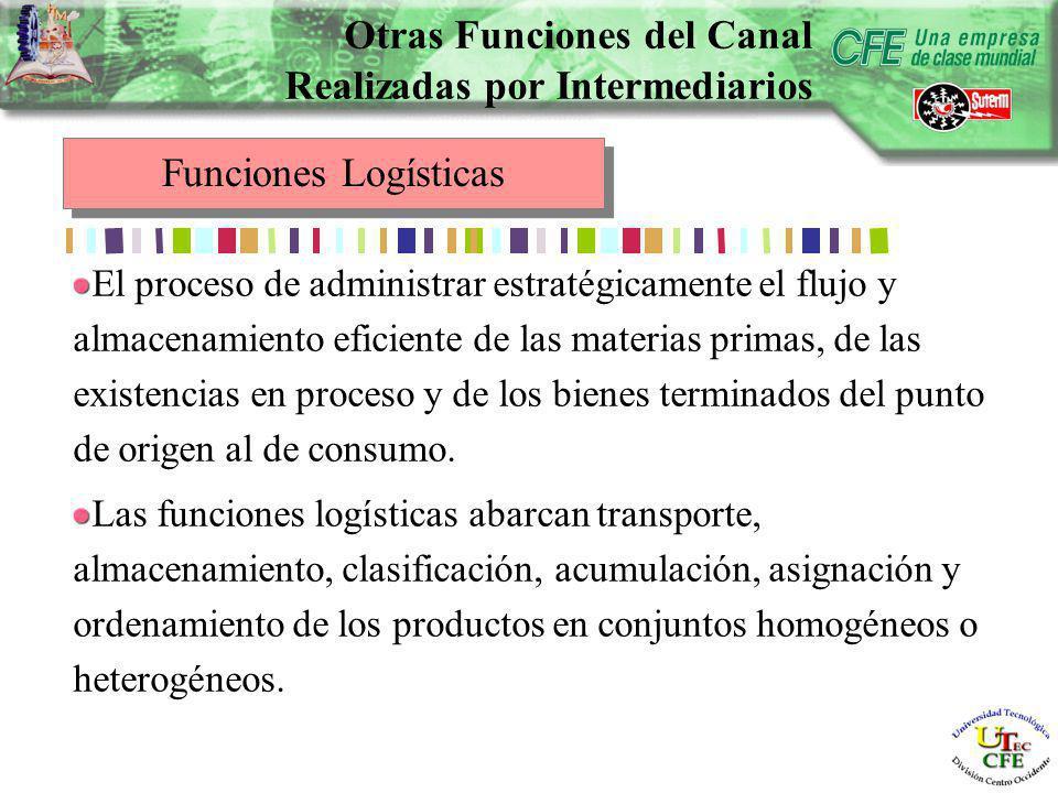 El proceso de administrar estratégicamente el flujo y almacenamiento eficiente de las materias primas, de las existencias en proceso y de los bienes terminados del punto de origen al de consumo.