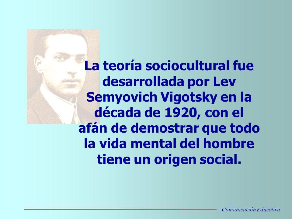 De acuerdo a Vigotsky, el entorno social y el individual coexisten en una relación dialéctica.