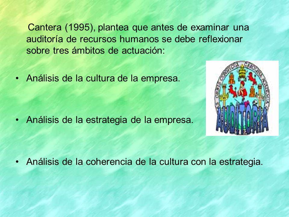 La auditoria de recursos humanos debe comenzar con el análisis de ambos componentes: La cultura se configura como una serie de rasgos comunes a todos o por los menos a la gran mayoría de los miembros de una empresa y que son normas implícitas que influyen sobre los comportamientos de los recursos humanos.