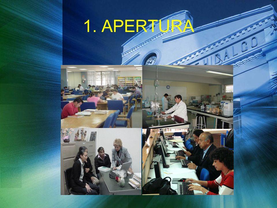 1. APERTURA