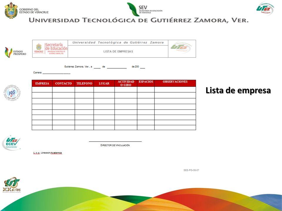 Este formato será entregado por el alumno, en un plazo no mayor a la segunda semana del mes de Octubre.