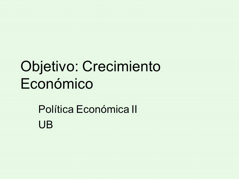 Modelo sustitutivo de importaciones Se obtuvieron resultados positivos: industrialización, crecimiento económico, incremento gasto social, fortalecimiento del Estado, etc.