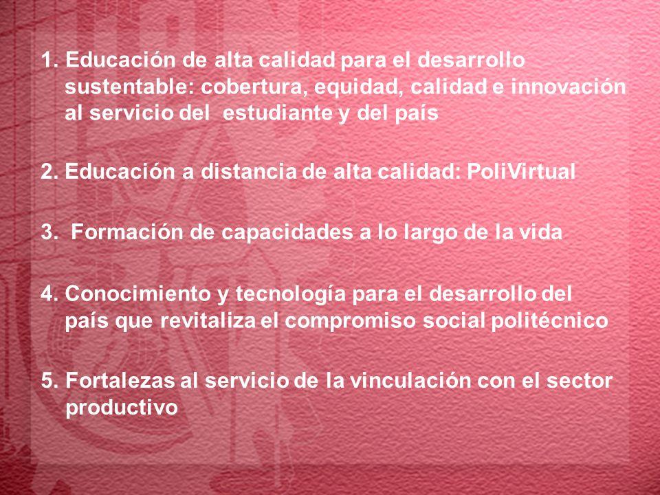 7.Nuevas rutas para el servicio social: cumplir nuestro compromiso nacional 10.