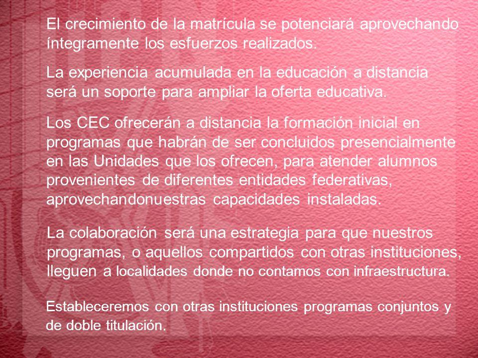 1.2 Calidad, innovación y pertinencia: para el desarrollo nacional La innovación educativa se convertirá en un componente indisoluble de la calidad.