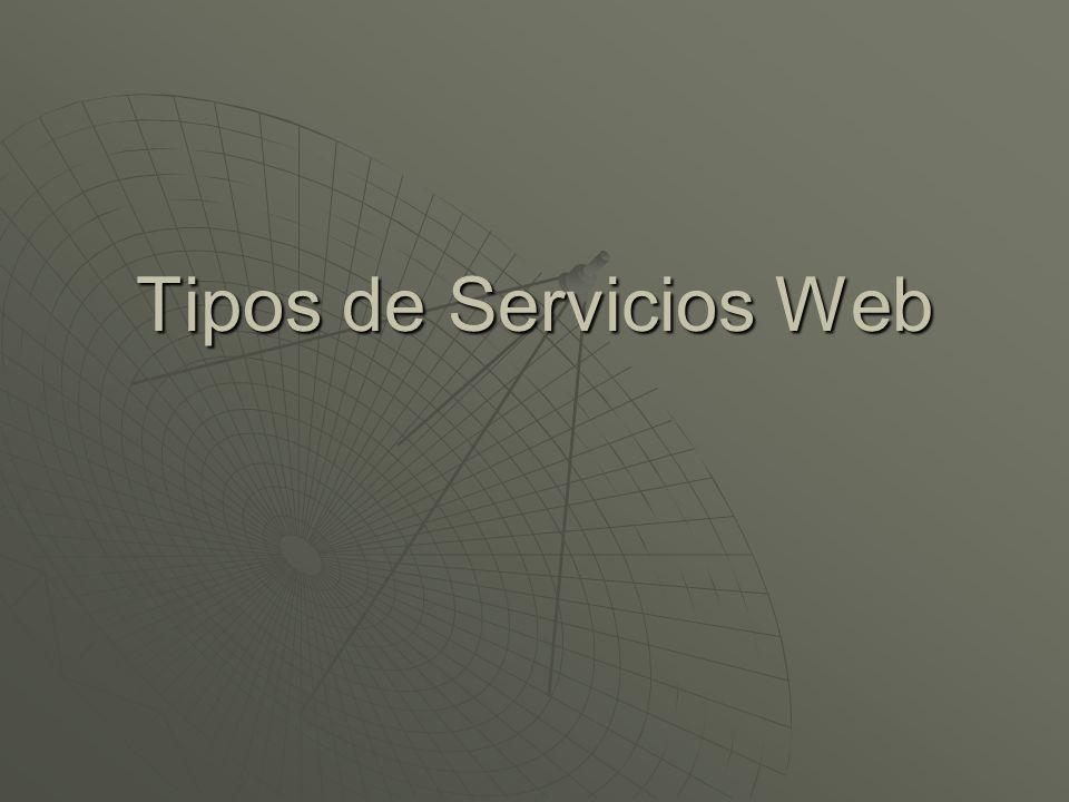 Servicio Web El consorcio W3C define los Servicios Web como sistemas software diseñados para soportar una interacción interoperable maquina a maquina sobre una red.