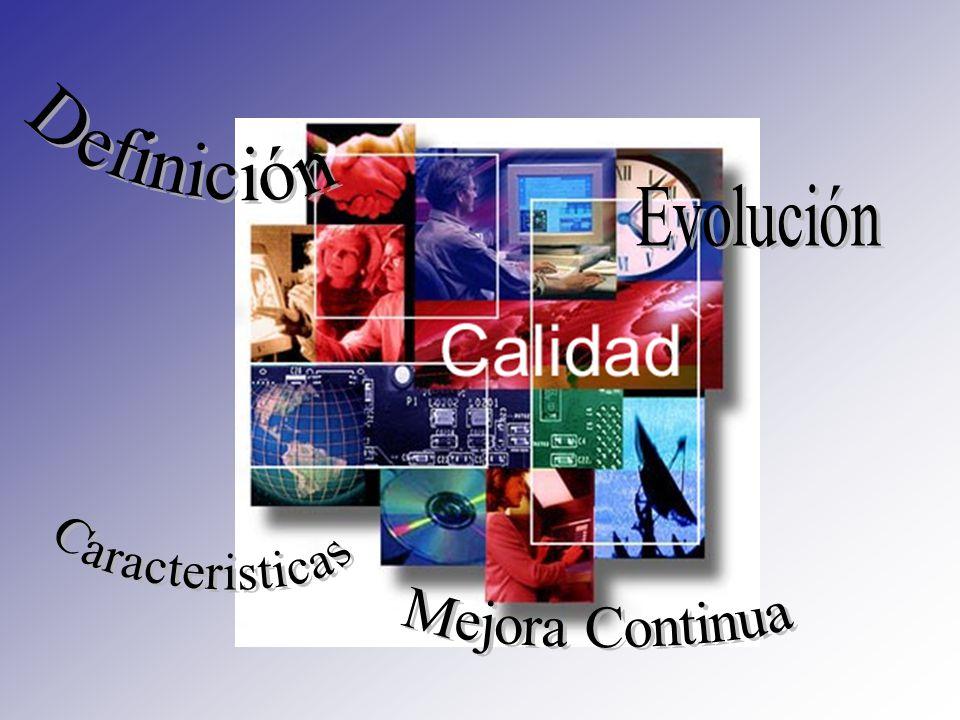 AUTOCONTROL DE LA CALIDAD La idea de que la calidad se autocontrola se basa en la responsabilidad del trabajador que realiza su tarea.