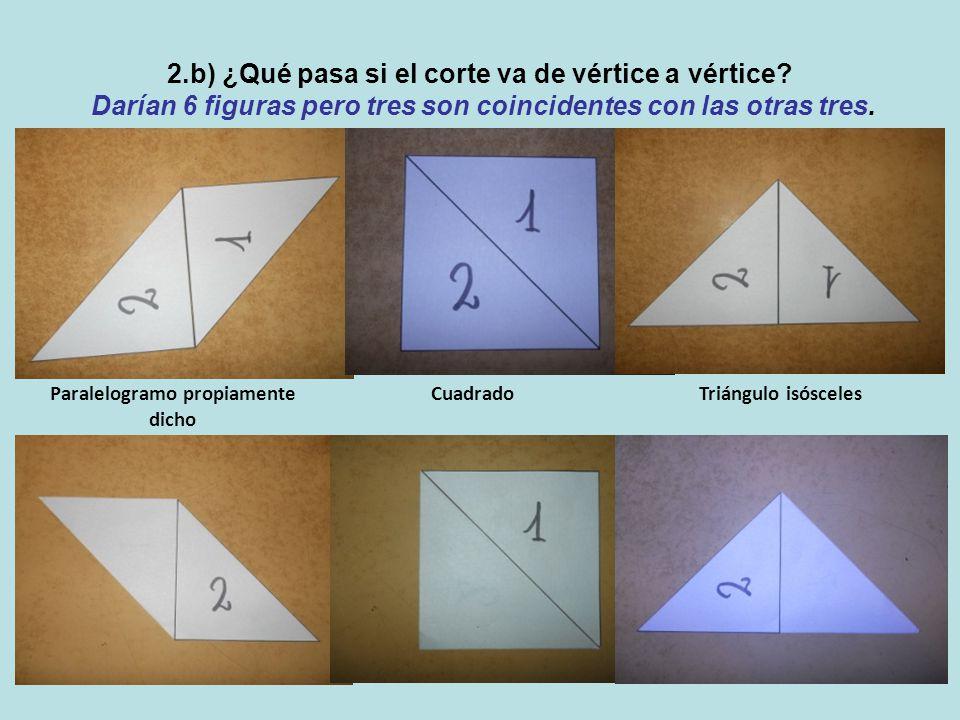 2.b) ¿Qué pasa si el corte va de vértice a vértice.