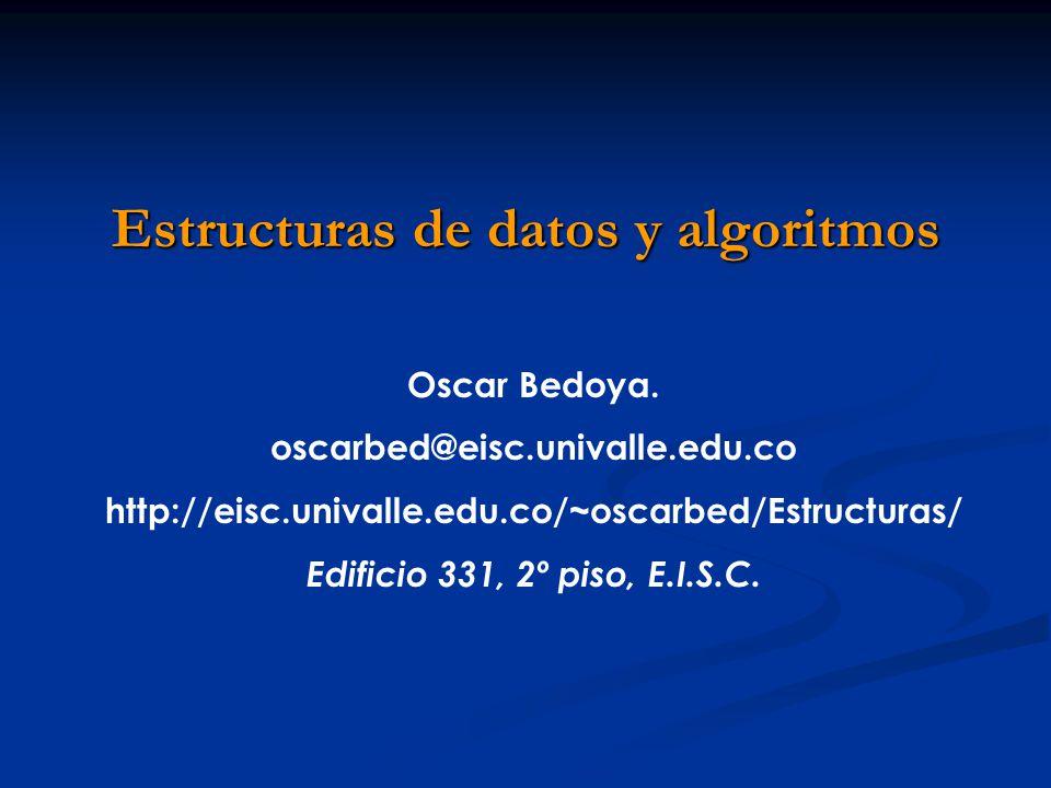 Tipos de datos El invariante.