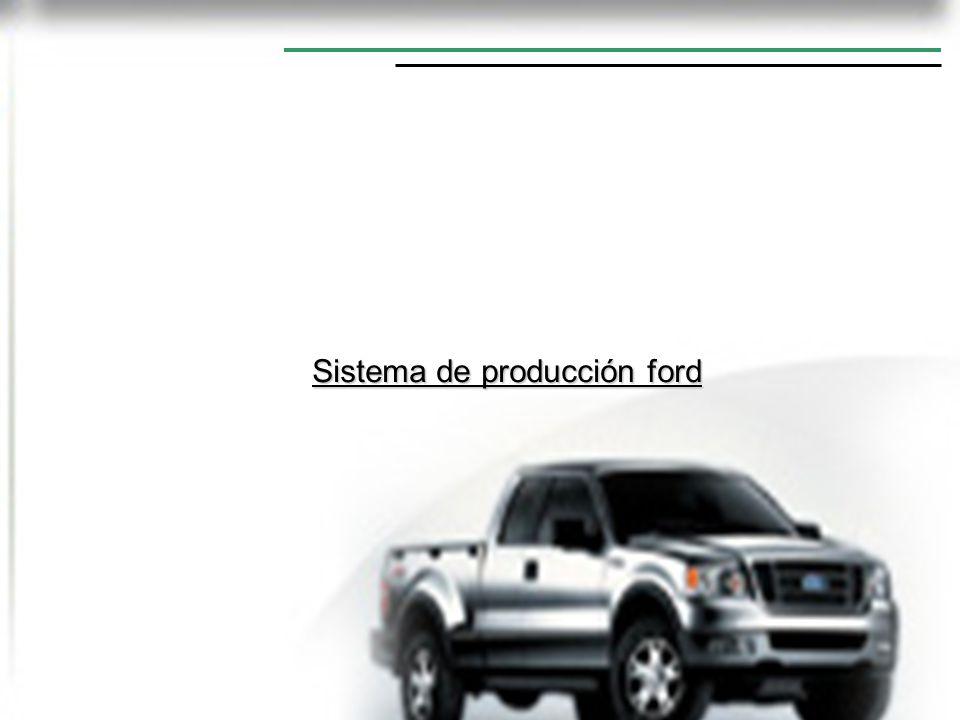 Sistema de producción ford